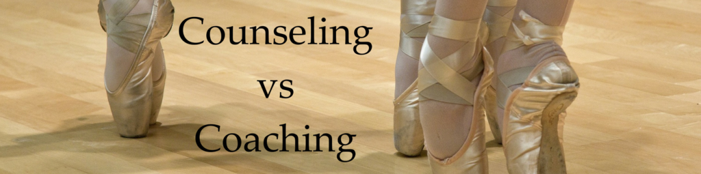 counseling vs coaching